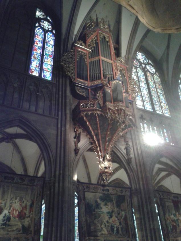 L'organo della cattedrale di Notre-Dame