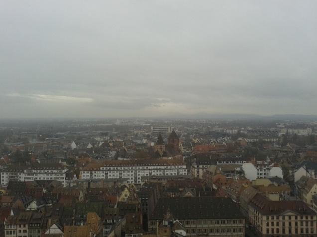 Panorama dalla terrazza sulla Cattedrale di Notre-Dame