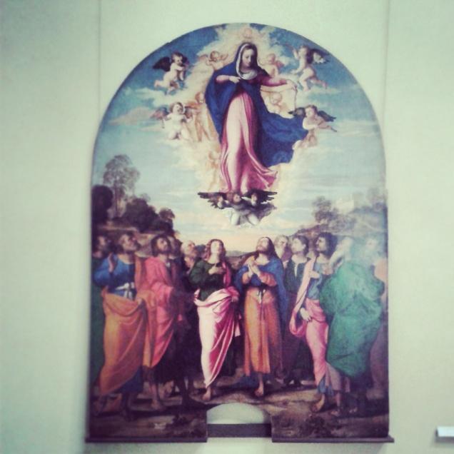 Dipinto nelle Gallerie dell'Accademia