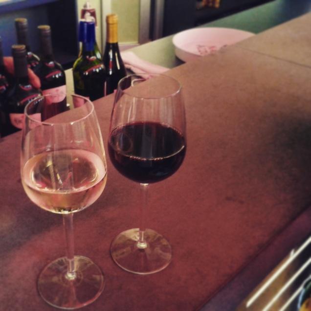 Assaggio di vino in Argentina