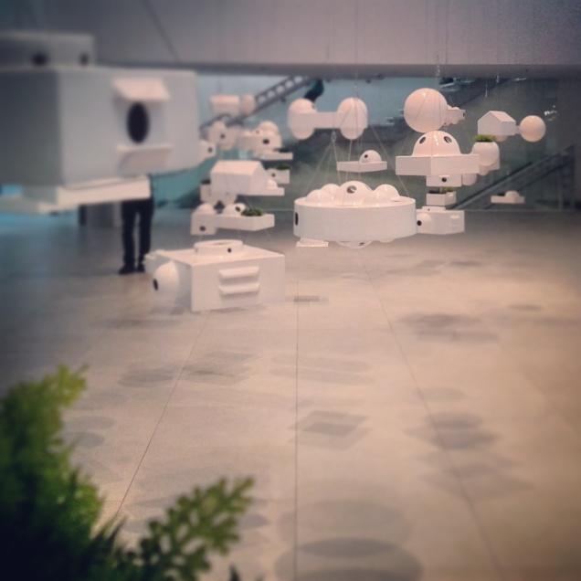 La mostra interna del Padiglione del Brasile