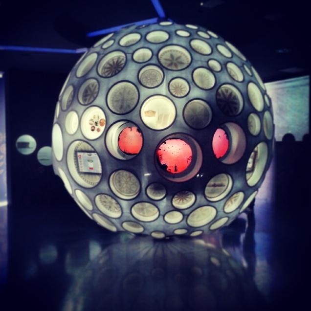 Una sfera che simboleggia un seme