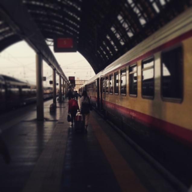 Il treno del ritorno