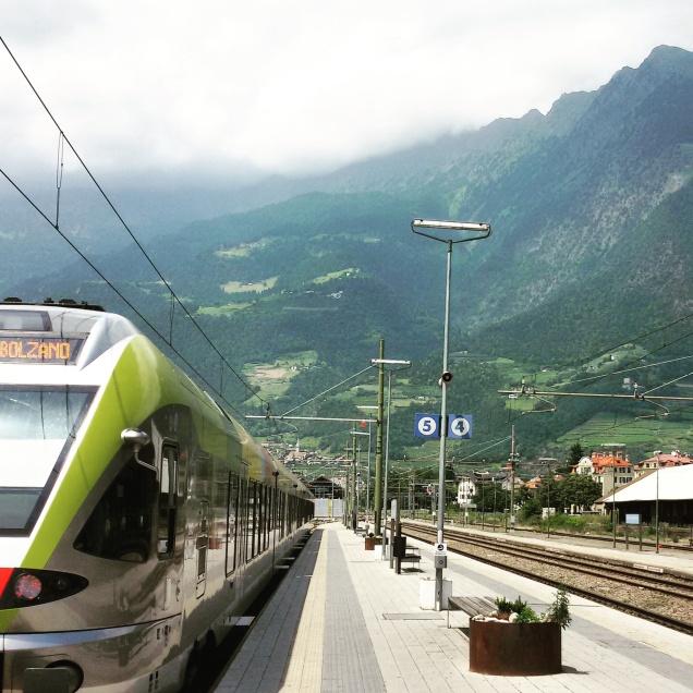 Treno per Bolzano (ritorno)