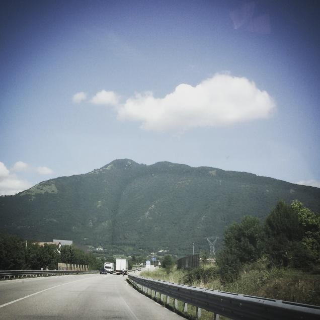 Lungo la strada per raggiungere il monte Pasubio