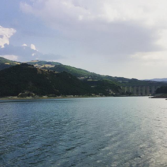 Il lago di Guardialfiera