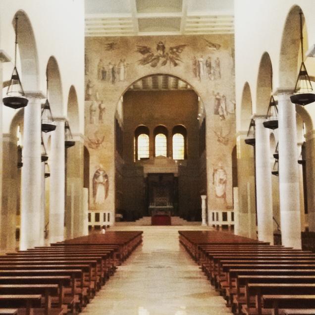 Una fotografia dell'interno della Cattedrale di Benevento
