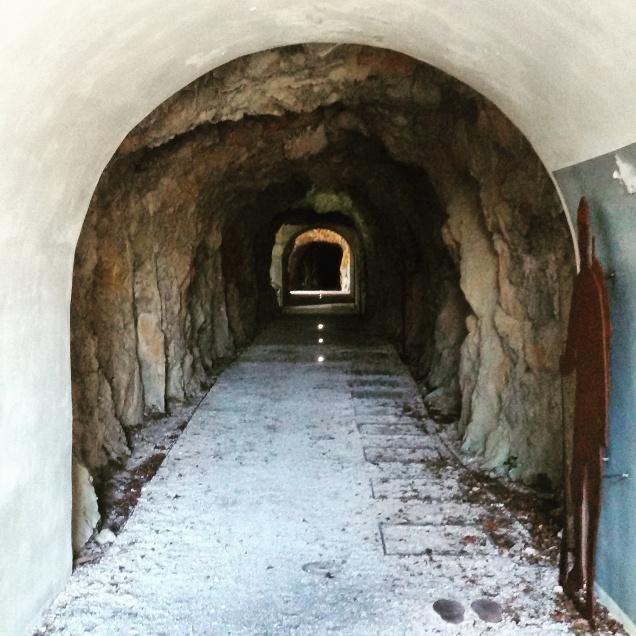 L'ingresso alle cannoniere del monte Brestovec