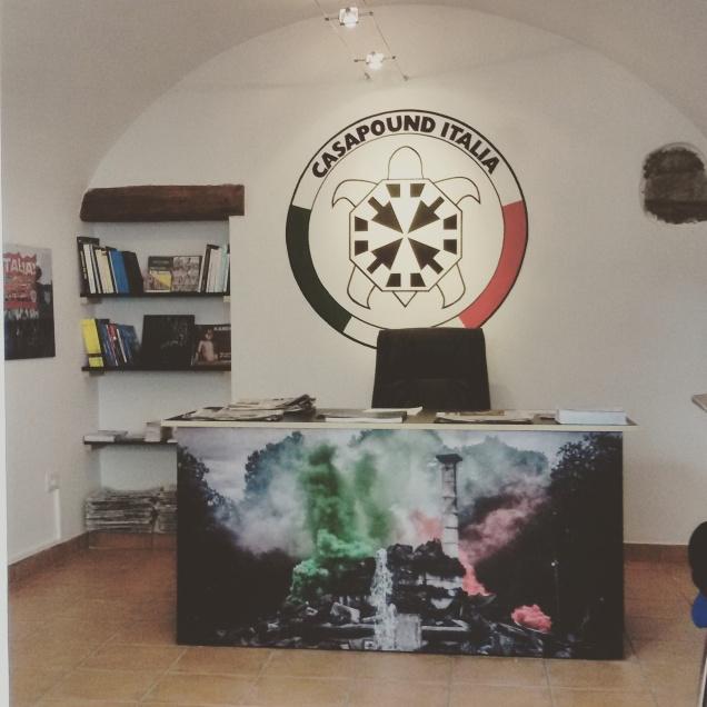 L'interno della sede di Gorizia