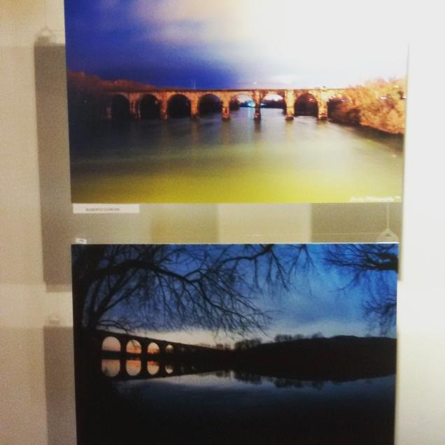 Due fotografie dell'Isonzo