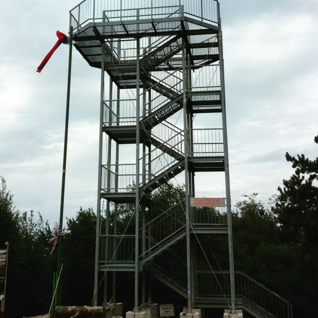 La grande torre panoramica