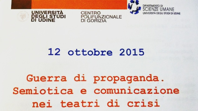 Guerra di propaganda. Semiotica e comunicazione nei teatri di crisi + intervista al Direttore Gianandrea Gaiani