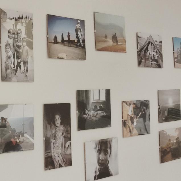 Alcuni degli scatti fotografici della mostra