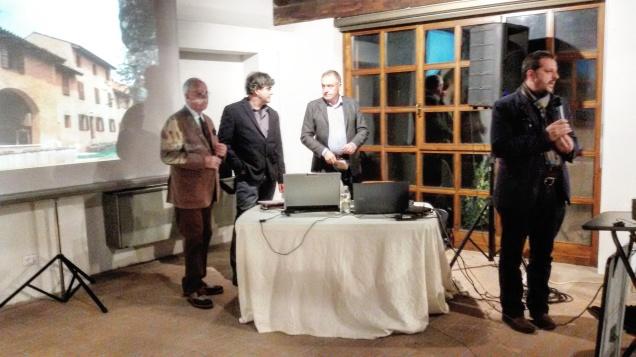 Il dott. Alessandro Fabbro durante il discorso introduttivo