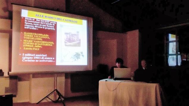 Il dott. Claudio Fabbro (sulla destra), durante il suo intervento