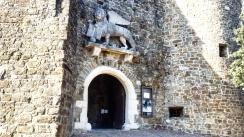 L'ingresso al castello di Gorizia