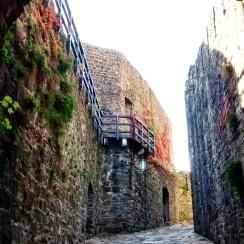 Strada d'ingresso al castello di Gorizia