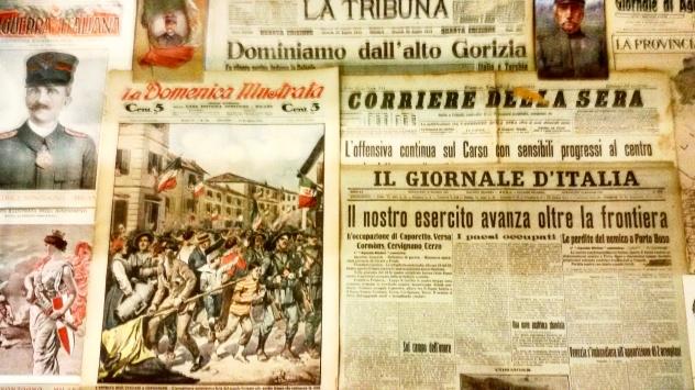 Alcuni articoli di giornale dell'epoca