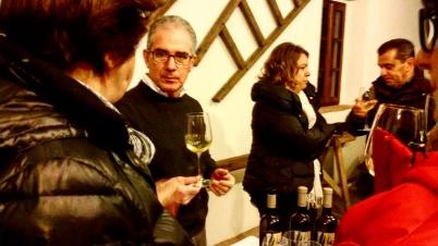 Assaggio dello Chardonnay