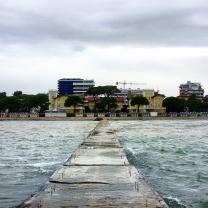 """Il molo della """"Spiaggia Nuova"""""""