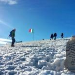 Lapide in memoria di Tre Alpini