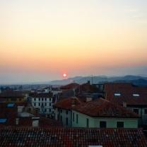 """Panorama godibile dal primo piano della """"Torre Civica"""""""
