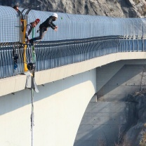 Bungee Jumping dal Viadotto di Valgadena 3