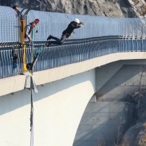 Bungee Jumping dal Viadotto di Valgadena 4