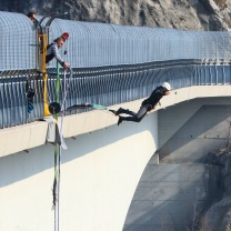 Bungee Jumping dal Viadotto di Valgadena 5