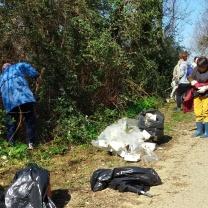 Plastica, polistirolo e altri rifiuti