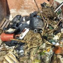 Buona parte dei rifiuti raccolti