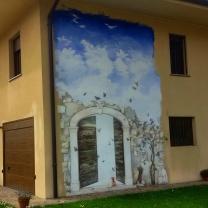 Bordano, Casa delle Farfalle e Forte di Monte Festa 11