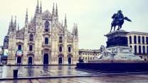 Duomo di Milano, ore 08:00