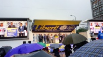 Liberi - manifestazione politica con intervista a Matteo Salvini - Milano 29052016 6