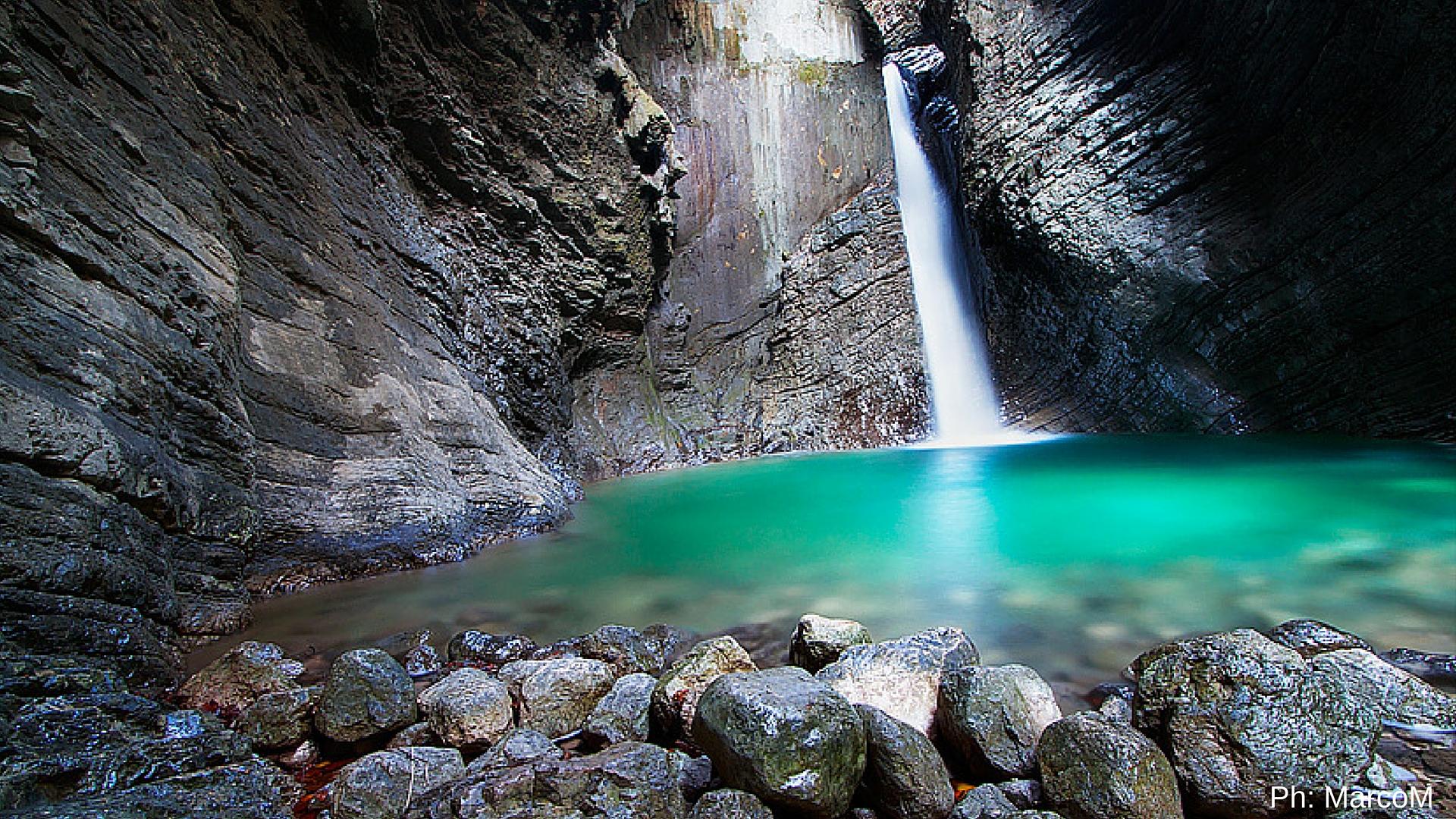 Slap Kozjak, la cascata di smeraldo