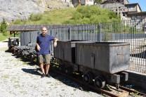 Piccoli vagoni delle cave del predil