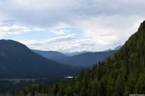 Paesaggio dal sentiero CAI 513