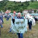 Primo piano di Matteo Salvini