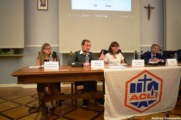 Selina Trevisan, Massimiliano Fedriga, Silvia Paoletti, Alessandro Maran