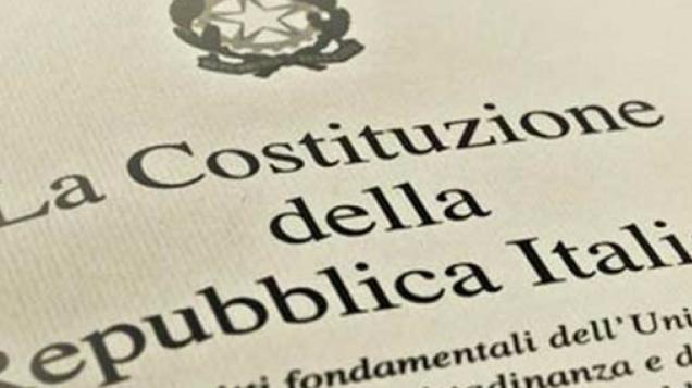 Immagine di copertina della Costituzione Italiana