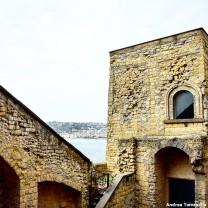 Scorcio sul Golfo di Napoli da Castel dell'Ovo