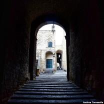 Scala di ingresso Castel dell'Ovo