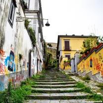 Scale Pedamentina a Napoli