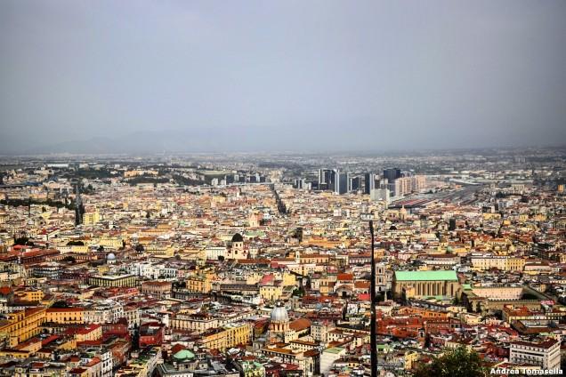Vista della Spaccanapoli da Castel Sant'Elmo