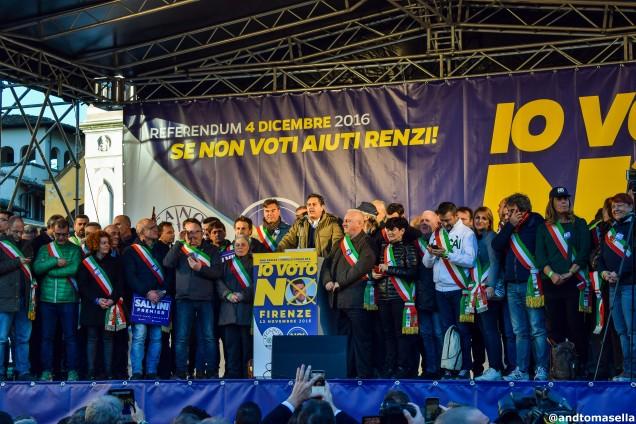 Il governatore della Liguria a Firenze