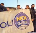 sostenitori di Matteo Salvini dalla campania