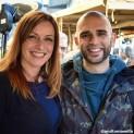 una foto di Lucia Borgonzoni con un supporter