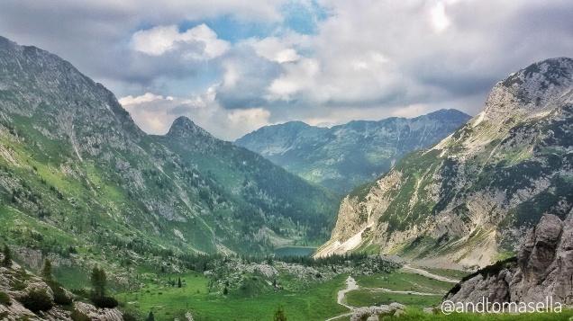 bella vista sul Monte Nero