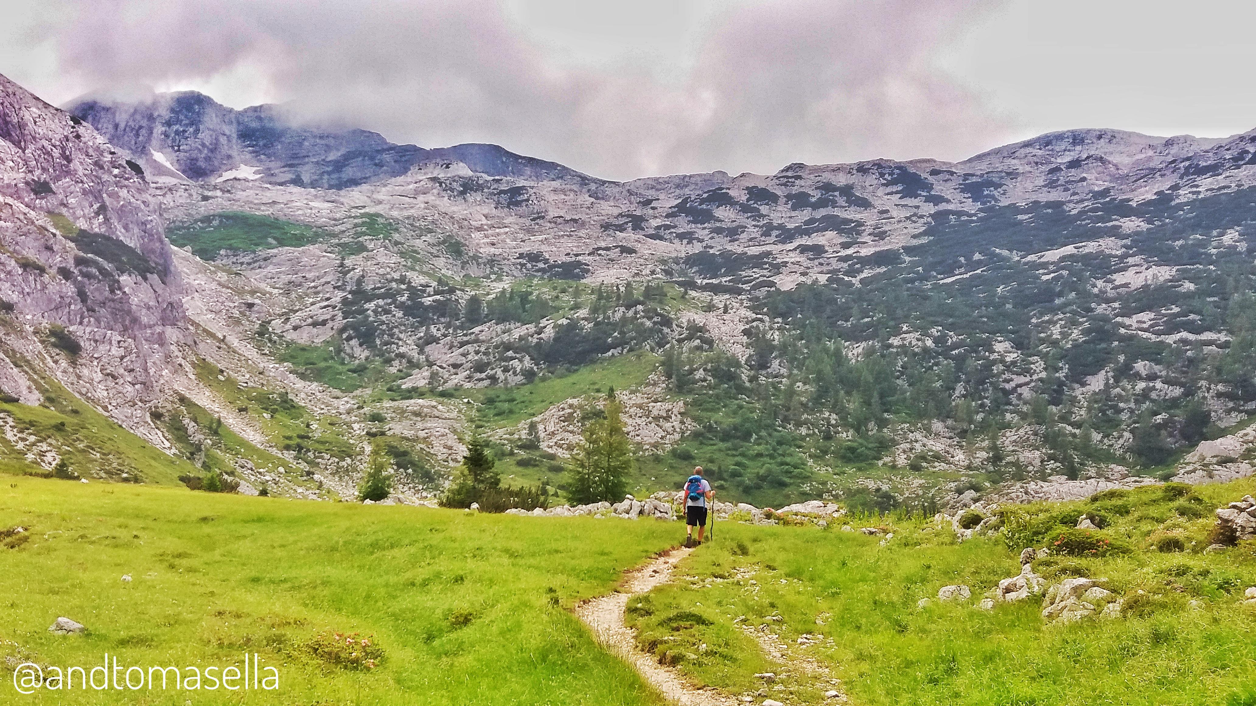 escursione sul Monte Nero (Krn)