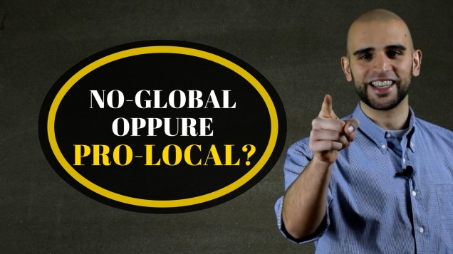 immagine su no global e pro local